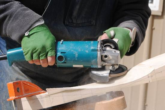 2015 May 8 2 Makita grinder.jpg
