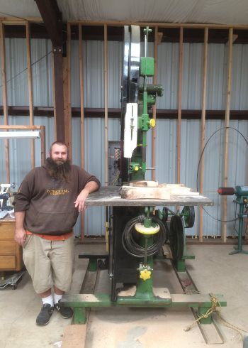 2016 July 19 11 Harry Mari saddle tree by Tiny Tim, the bandsaw.jpg