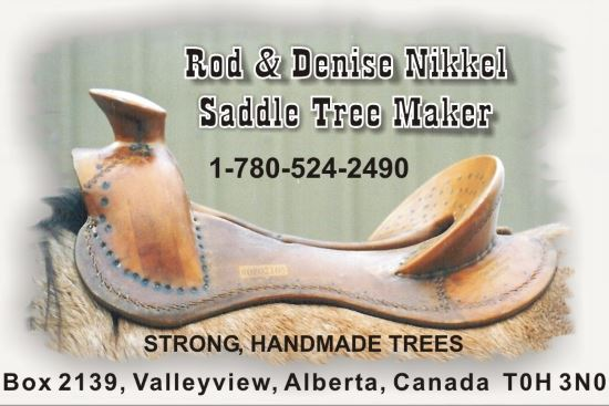 2015 Nov 2 5 Rod Nikkel Saddle Trees.jpg