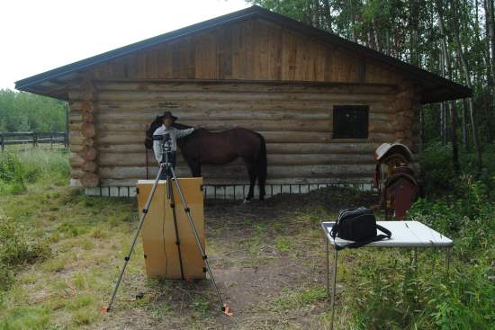 2016 Aug 2 6 filming for our western saddle fit video.jpg