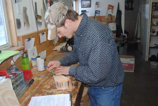 2016 Dec 5 4 Greg Cymbaluk building a swell fork saddle tree.jpg
