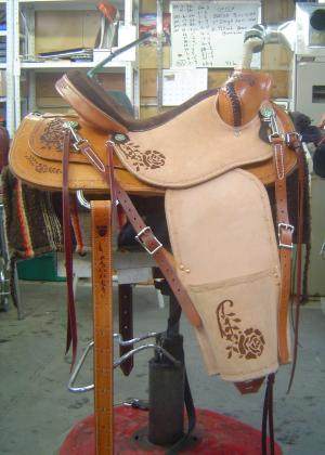 A Special Saddle For A Special Lady