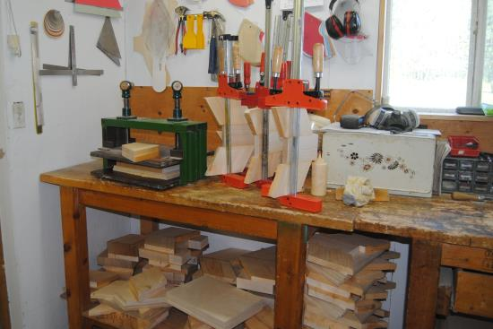 2015 Aug 28 6 gluing up wood for trees.jpg